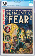 Golden Age (1938-1955):Horror, Haunt of Fear #17 (EC, 1953) CGC FN/VF 7.0 Off-white pages....