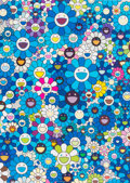 Post-War & Contemporary:Contemporary, Takashi Murakami (Japanese, b. 1962-). An Homage To IKB 1957D, 2012. Offset lithography in colors. 20-7/8 x 29 inches (...