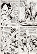 Original Comic Art:Panel Pages, John Buscema and Frank Giacoia Sub-Mariner #3 Story Page 8Triton Original Art (Marvel, 1968)....
