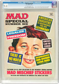Magazines:Mad, MAD Special #6 (EC, 1972) CGC NM 9.4 Off-white to white pages....