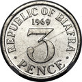 Biafra, Biafra: Republic aluminum Four-Piece Certified Set 1969,... (Total:4 coins)
