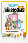"Movie Posters:Animation, The Aristocats & Others (Buena Vista, R-1980). One Sheet (3) (27"" X 41""). Animation.. ... (Total: 3 Items)"