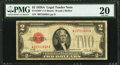 Fr. 1502* $2 1928A Legal Tender Note. PMG Very Fine 20