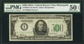 Fr. 2202-I $500 1934A Federal Reserve Note. PMG About Uncirculated 50 EPQ