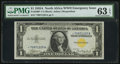 Small Size:World War II Emergency Notes, Fr. 2306* $1 1935A North Africa Silver Certificate. PMG Choice Uncirculated 63 EPQ.. ...