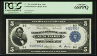 Fr. 782 $5 1918 Federal Reserve Bank Note PCGS Gem New 65PPQ