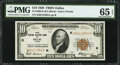 Fr. 1860-K $10 1929 Federal Reserve Bank Note. PMG Gem Uncirculated 65 EPQ