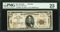 National Bank Notes:Nevada, Ely, NV - $5 1929 Ty. 2 The First NB Ch. # 8561. ...