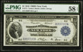 Large Size:Federal Reserve Bank Notes, Fr. 711 $1 1918 Federal Reserve Bank Note PMG Choice About Unc 58 EPQ.. ...