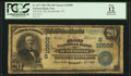 National Bank Notes:Tennessee, Russellville, TN - $20 1902 Plain Back Fr. 657 The First NB Ch. #(S)10508. ...