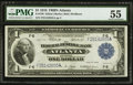 Fr. 726 $1 1918 Federal Reserve Bank Note PMG About Uncirculated 55