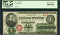 Fr. 16 $1 1862 Legal Tender PCGS Choice About New 58PPQ