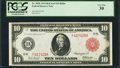 Large Size:Federal Reserve Notes, Fr. 902b $10 1914 Red Seal Federal Reserve Note PCGS Very Fine 30.. ...