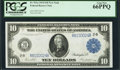 Large Size:Federal Reserve Notes, Fr. 911a $10 1914 Federal Reserve Note PCGS Gem New 66PPQ.. ...