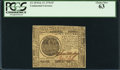 Colonial Notes:Continental Congress Issues, Continental Currency February 17, 1776 $7 PCGS Choice New 63.. ...