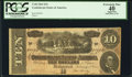 Confederate Notes:1864 Issues, T68 $10 1864 PF-3 Cr. 541.. ...