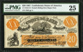 Confederate Notes:1861 Issues, CT-XXI / C2 $20 Female Riding Deer Bogus Note (Back C) 1861.. ...