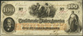 Confederate Notes:1862 Issues, T41 $100 1862 PF-16 Cr. 320.. ...