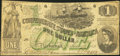 Confederate Notes:1862 Issues, T45 $1 1862 PF-1 Cr. 342A.. ...