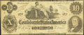 Confederate Notes:1862 Issues, T46 $10 1862 PF-2 Cr. 343.. ...