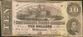 Confederate Notes:1862 Issues, T52 $10 1862 PF-21 Cr. 375.. ...