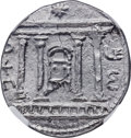 Ancients:Judaea, Ancients: JUDAEA. Bar Kokhba Revolt (AD 132-135). AR sela (26mm, 14.67 gm, 1h). NGC MS 5/5 - 3/5....
