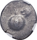 Ancients:Greek, Ancients: PAMPHYLIA. Side. Ca. 460-430 BC. AR stater (24mm, 10.76gm, 3h). NGC MS 4/5 - 5/5....