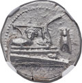 Ancients:Greek, Ancients: LYCIA. Phaselis. Ca. 4th century BC. AR stater (22mm,10.44 gm, 5h). NGC MS 5/5 - 4/5....
