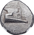 Ancients:Greek, Ancients: LYCIA. Phaselis. Ca. 4th century BC. AR stater (23mm,10.39 gm, 6h). NGC MS 5/5 - 4/5....