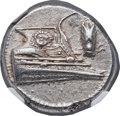 Ancients:Greek, Ancients: LYCIA. Phaselis. Ca. 4th century BC. AR stater (22mm,10.38 gm, 3h). NGC Choice AU 5/5 - 4/5....