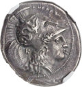 Ancients:Greek, Ancients: LUCANIA. Heraclea. Ca. 330-280 BC. AR stater (23mm, 7.76gm, 8h). NGC XF 4/5 - 5/5, Fine Style....