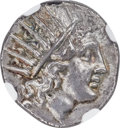 Ancients:Greek, Ancients: CARIAN ISLANDS. Rhodes. Ca. 188-84 BC. AR drachm (14mm,2.98 gm, 12h). NGC MS 5/5 - 4/5, Fine Style...