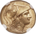 Ancients:Greek, Ancients: MACEDONIAN KINGDOM. Alexander III the Great (336-323 BC).AV stater (18mm, 8.61 gm, 10h). NGC Choice AU 5/5 - 4/5, FineStyle....