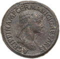 Ancients:Roman Imperial, Ancients: Agrippina Senior (Died AD 33). Orichalcum sestertius(36mm, 27.75 gm, 6h). VF....