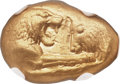 Ancients:Greek, Ancients: LYDIAN KINGDOM. Croesus (ca. 561-546 BC). AV stater(19mm, 10.76 gm). NGC AU 4/5 - 4/5....