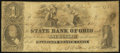 Obsoletes By State:Ohio, Cadiz, OH - State Bank of Ohio, Harrison Branch Counterfeit $1 Nov.15, 1858 C152 Wolka 0252-05. ...