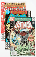 Modern Age (1980-Present):Superhero, Detective Comics #501-546 Group (DC, 1981-85) Condition: AverageVF-.... (Total: 46 Comic Books)