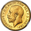 Great Britain, Great Britain: George V 4-Piece NGC-Certified gold Proof Set1911,... (Total: 4 coins)