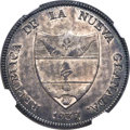 Colombia, Colombia: Republic 8 Reales 1837 BOGOTA-RS MS63 NGC,...