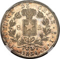 Chile, Chile: Republic 8 Reales 1839 So-IJ MS65 NGC,...