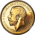 Great Britain, Great Britain: George V gold Proof 5 Pounds 1911 PR66 NGC,...