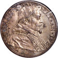 Italy:Papal States, Italy: Papal States. Clement X Piastra MDCLXXV (1675) AU50 PCGS,...