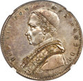 Italy:Papal States, Italy: Papal States. Leo XII Scudo 1825-R Anno II MS63 NGC,...