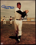 Autographs:Photos, Willie Mays Signed Photograph. ...