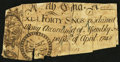 Colonial Notes:North Carolina, North Carolina April 4, 1748 40s About Good.. ...
