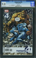 Modern Age (1980-Present):Superhero, Fantastic Four V3#556 - WESTPORT COLLECTION (Marvel, 2008) CGC NM/MT 9.8 White pages.