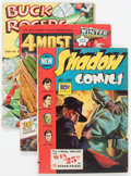 Golden Age (1938-1955):Miscellaneous, Comic Books - Assorted Golden Age Group (Various Publishers, 1940s) Condition: Average FR.... (Total: 16 Comic Books)