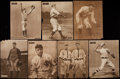 Baseball Cards:Lots, 1909-11 M101-2 Sporting News Supplements Collection (8). ...