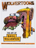 Memorabilia:Comic-Related, Wolvertoons: The Art of Basil Wolverton Hardcover First Edition (Fantagraphics, 1989) Condition: NM-....
