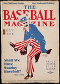 Autographs:Others, The Baseball Magazine July 1908 - Volume I Number 3. ...